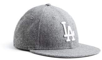 Todd Snyder + New Era Exclusive LA Dodgers Hat In Italian Barberis Wool Flannel