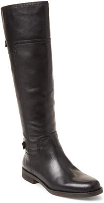 Franco Sarto Black Capitol Leather Riding Boots