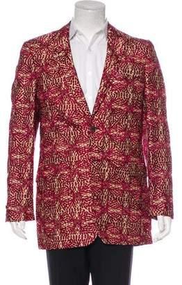 Kenzo Embroidered Silk Blazer