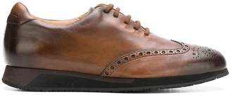 Santoni lace-up brogues