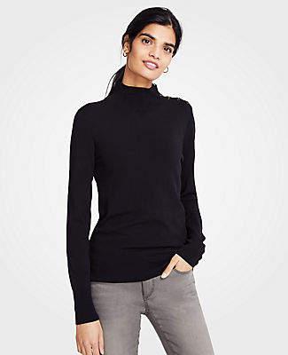 Ann Taylor Petite Turtleneck Sweater