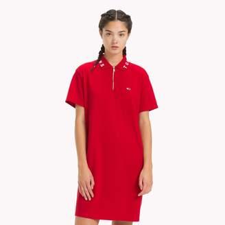 Tommy Hilfiger Zip Collar Polo Dress
