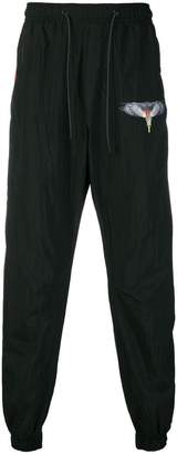 Marcelo Burlon County of Milan tapered track pants