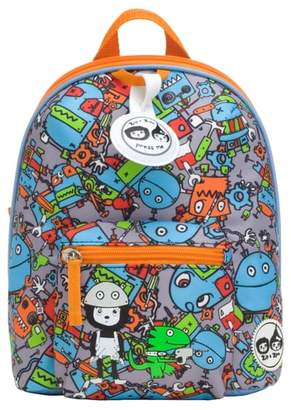 Babymel Zip & Zoe Robots Mini Backpack