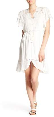 Hale Bob V-Neck Lace Dress
