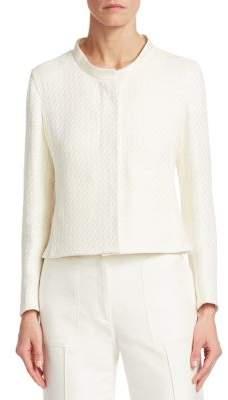 Akris Natural Tailored Short Jacket