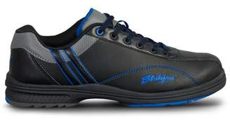 KR Strikeforce Bowling Shoes KR Strikeforce Mens Raptor Performance Bowling Shoes- Left Hand Black/Royal 7 1/2