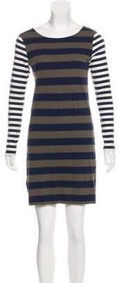 Chinti and Parker Striped Mini Dress