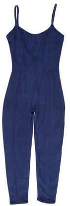 Lisa Marie Fernandez Sleeveless Terry Cloth Jumpsuit