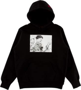Supreme Akira Arm Hooded Sweatshirt - 'FW 17' - Black
