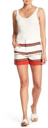 Derek Lam 10 Crosby Striped Shorts