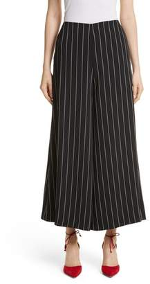 Yigal Azrouel Wide Leg Stripe Trousers