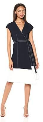 Joie Women's Mahesa Short Sleeve Wrap Dress