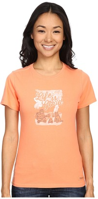 Life Is Good Campfire Crusher Tee $24 thestylecure.com
