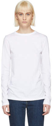 Rag & Bone White Long Sleeve T-Shirt