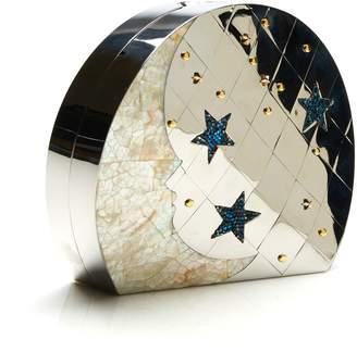 Emm Kuo Ginza Silver Star Clutch