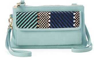 Apt. 9 Chelsea Chevron RFID-Blocking Crossbody Wallet