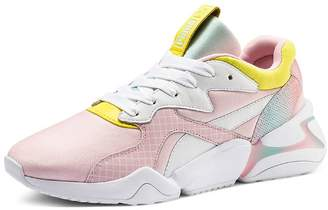 Puma x Nova x Barbie Women's Mixed Media Pastel Lace-Up Sneakers