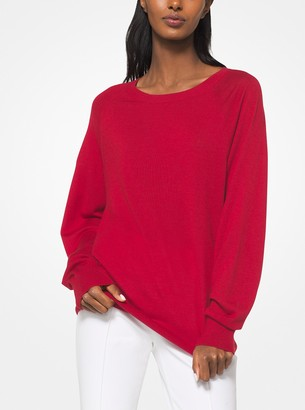 Michael Kors Tropical Cashmere Pullover