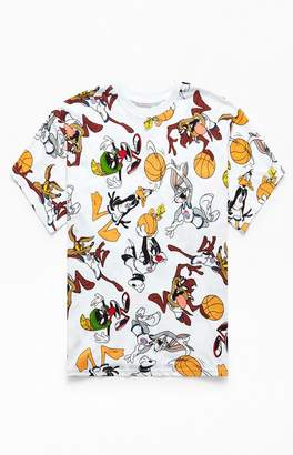 White Space Jam All Over Print T-Shirt