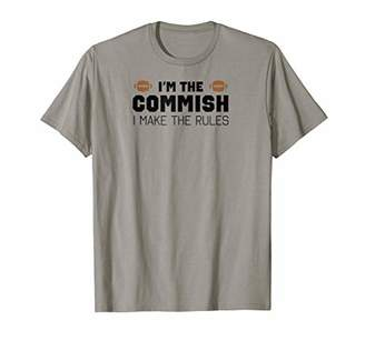 I'm The Commish I Make The Rules Shirt for Men Commissioner