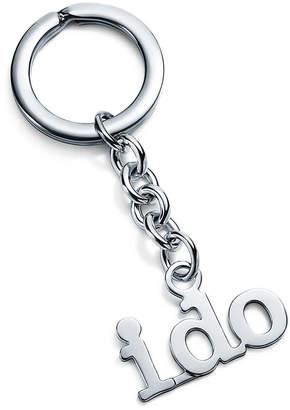 """Tiffany & Co. """"I Do"""" key ring"""