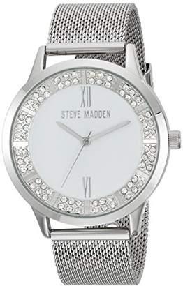 Steve Madden Women's Quartz -Tone and Alloy Fashion Watch