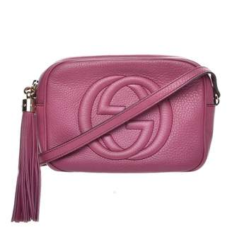 Gucci Soho Disco Crossbody Small Peonia Flower