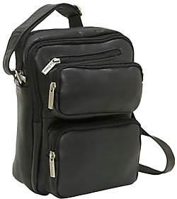 Le Donne Leather Multi-Pocket iPad/E-Reader Bag