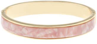 Liz Claiborne Gold Tone Round Bangle Bracelet