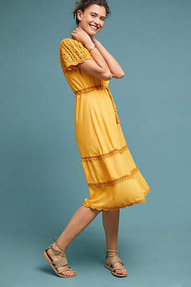 Cleobella Sunshine Crocheted Dress