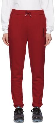 Polythene* Optics Red Fleece Lounge Pants