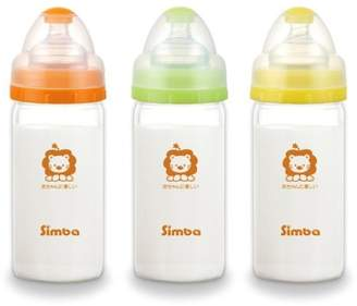 Simba 6 oz Ultra Light Glass Bottle (Wide Neck, Set of 3)
