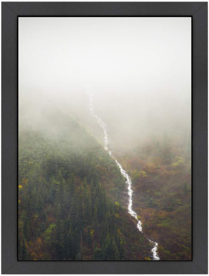 Americanflat Flowing Through the Fog by Annie Bailey (Framed Giclee)