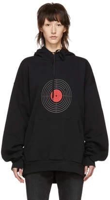 Vetements Black Target Hoodie