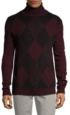 Boglioli Turtleneck Wool Blend Sweater