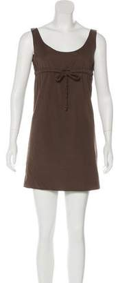 Miu Miu Sleeveless Mini Dress