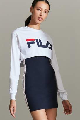 Fila + UO Cropped Long Sleeve Tee