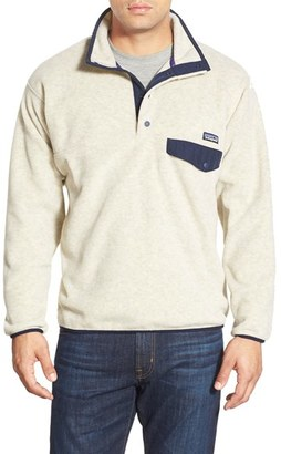 Men's Patagonia 'Synchilla Snap-T' Pullover $139 thestylecure.com