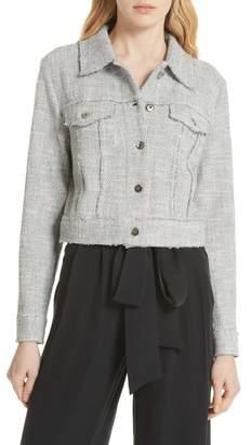Milly (ミリー) - Milly Stretch Tweed Jacket