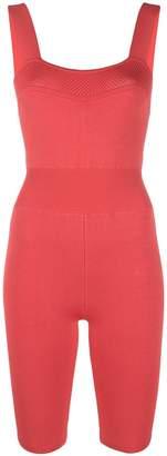 Fleur Du Mal short fitted jumpsuit