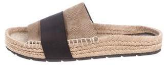 Balenciaga Suede Espadrille Sandals