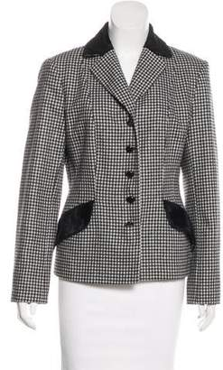 Philosophy di Alberta Ferretti Wool Houndstooth Jacket