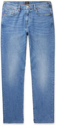 Paul Smith Tapered Denim Jeans - Men - Blue
