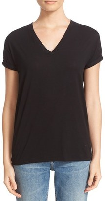 Women's T By Alexander Wang Superfine Cotton Jersey Tee $120 thestylecure.com
