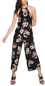 1 STATE 1.State 1.state Halter Top Floral Jumpsuit