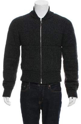 Dolce & Gabbana Quilted Knit Jacket