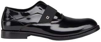 Fendi elasticated band oxford shoes