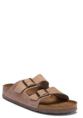 Birkenstock Arizona Nubuck Soft Footbed Slip-On Sandal - Discontinued