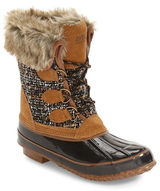 Women's Khombu Waterproof Boot $98.95 thestylecure.com